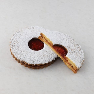 Raspberry Jam cookie