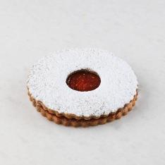 Raspberry Jam cookie