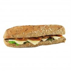 Sandwich au brie et confit d'oignon