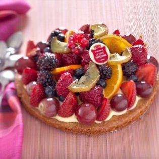 Tarte aux fruits mélangés