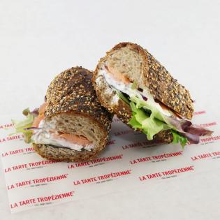 Sandwich Saumon Rustique