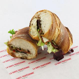 Coppa-Pesto Sandwich