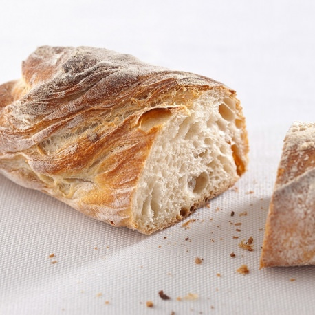 Plain pain paillasse bread