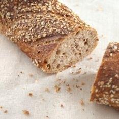 Rustic paillasse bread