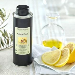 Huile d'olive et citron Château de Taurenne
