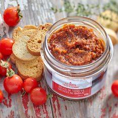 Délice de tomates séchées au basilic