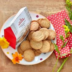Biscuits à la fleur d'oranger