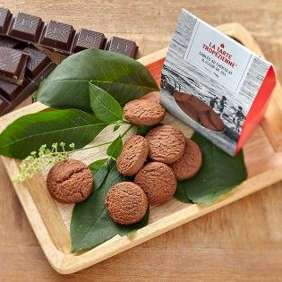 Sablés chocolat et sel de Guérande