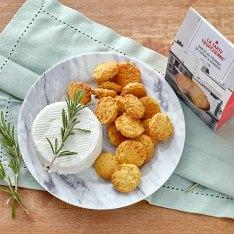 Biscuits salés chèvre & romarin